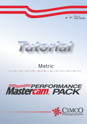 Mastercam HSM Performance Pack Tutorial