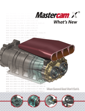 What is New in Mastercam X6 pdf - CNC Manual