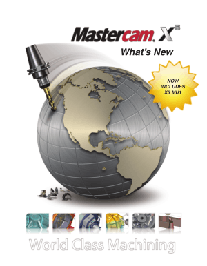 What is New in Mastercam X5