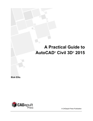 A Practical Guide to AutoCAD Civil 3D 2015