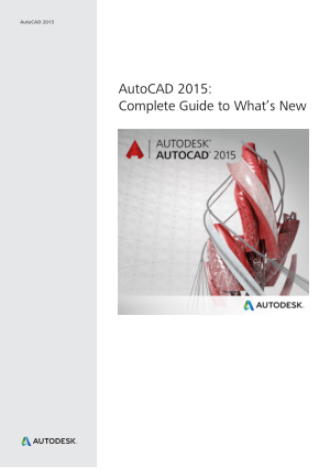 AutoCAD 2015 Complete Guide to What is New