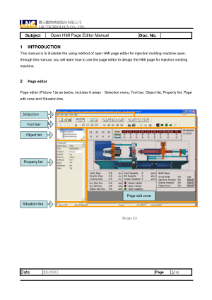 LNC Open HMI Page Editor Manual