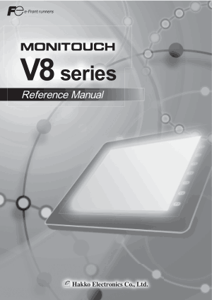 Hakko Monitouch V8 Reference Manual