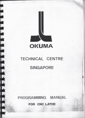 Okuma Lathe LB15 Programming Manual