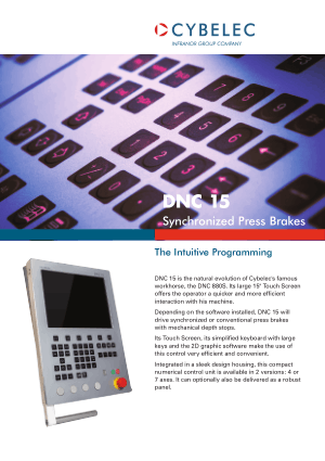 Cybelec Flyer DNC 15 Synchronized Press Brakes