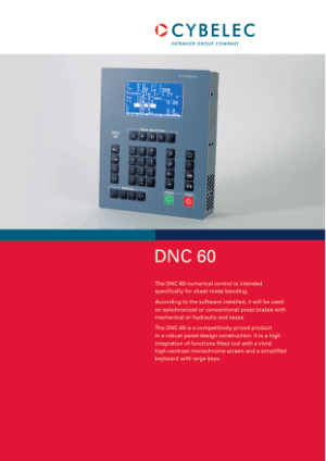 Cybelec DNC 60PS en Catalogue