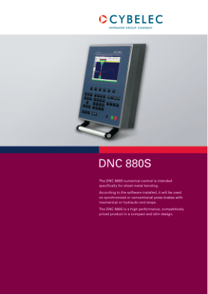 Cybelec DNC 880S en Catalogue