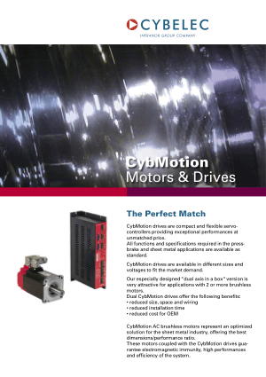 Cybelec CybMotion Catalog