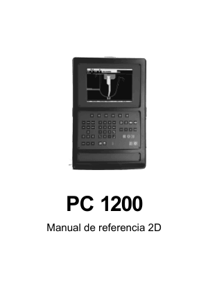 Cybelec PC 1200 Manual de referencia 2D