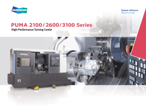 DOOSAN PUMA 2600Y High-Performance Turning Center
