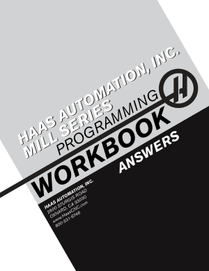 Haas Mill Programming Workbook Answers