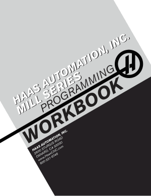Haas Mill Programming Workbook