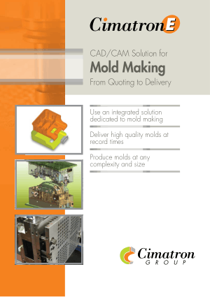 Cimatron E CAD CAM Solution for Mold Making
