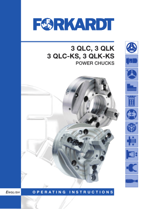 Forkardt QLC QLK Power Chucks Manual