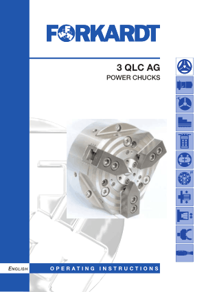 Forkardt 3 QLC AG Power Chuck Manual