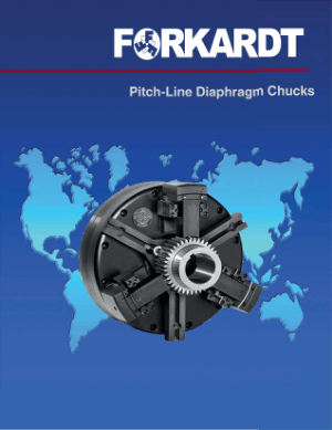 Forkardt PLD Pitch -Line Diaphragm Chucks Catalog