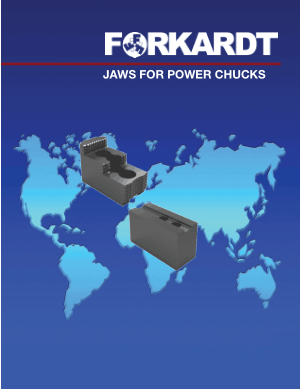Forkardt Jaws for Power Chucks