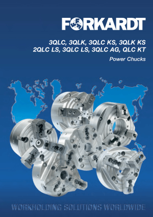 Forkardt QLC 3QLC KS Power Chucks Catalog