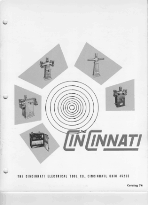Cincinnati Touret Catalogue