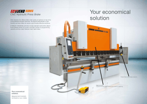 ERMAKSAN Ermak ECOBEND CNC Hydraulic Press Brake with CYBELEC DNC600S Technical Features