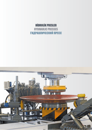 Sahinler Metal DEP 300 Hydraulic Dish End Press Technical Specifications