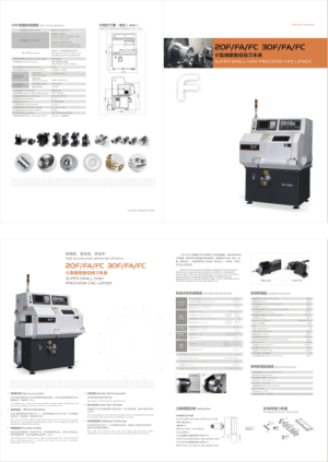20F FA FC Super-Small High Precision CNC Lathe Specifications