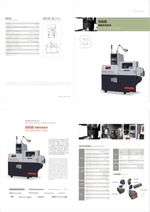 S16B CNC Automatic Lathe Machine Specifications