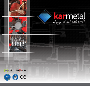 Karmetal General Catalogue