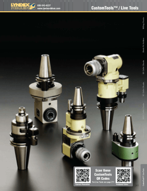 Lyndex-Nikken Custom Tools CAT2011 Catalog