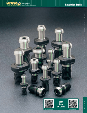 Lyndex-Nikken Retention Studs Catalog CAT2011