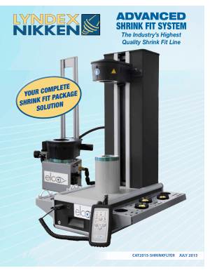 Lyndex-Nikken Shrink Fit Package Flyer july 2015