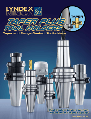Lyndex-Nikken Taper Plus Tool Holders Catalog