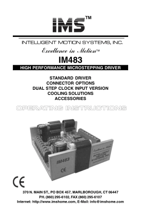 IM483 Microstepping Driver