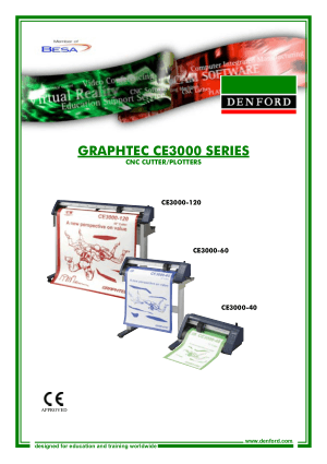 DENFORD Graphtec CE3000 Series CNC Cutter Plotters
