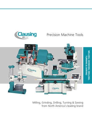 Clausing Precision Machine Tools