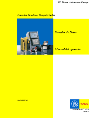 Fanuc Servidor de Datos Manual del operador B-62694SP/03