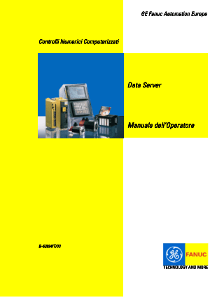 Fanuc Data Server Manuale dell'Operatore B-62694IT/03