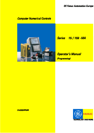 Fanuc Series 15i/150i-MA (Programming) Operators Manual B-63324EN/03