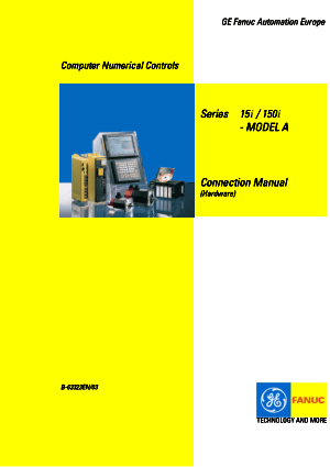 Fanuc Series 15i/150i-Model A Connection Manual (Hardware) B-63323EN/03