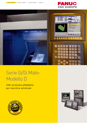 SALES GFTE-550-IT/06 Fanuc Serie 0i/0i Mate-Modello D Brochure