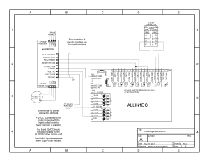 ALLIN1DC Connecting Spindle Inverter Schematic