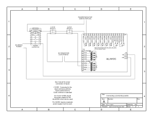 ALLIN1DC Connecting 2nd E-Stop Switch Schematic