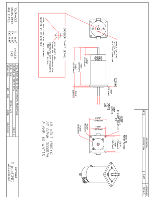 Ajax CNC 50SYX Motor Specifications Mechanical