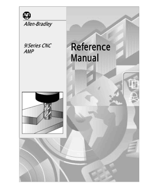 Allen-Bradley 9/Series CNC AMP Reference Manual