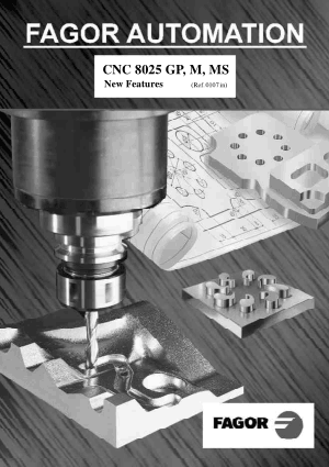 Fagor CNC 8025/8030M Operating Manual