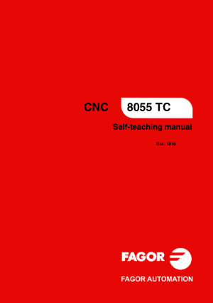 Fagor 8055 TC Self-teaching Manual