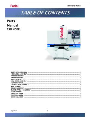Fadal 4020 fx Manual on