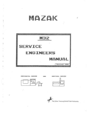 Mazatrol M32 manual pdf