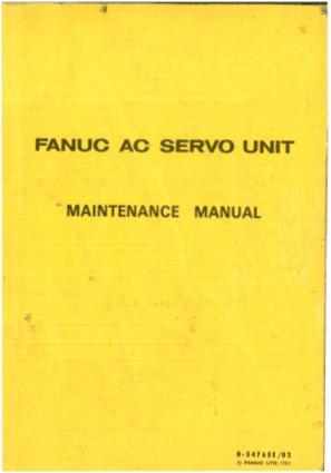 Fanuc Mate 200ic Maintenance Manual