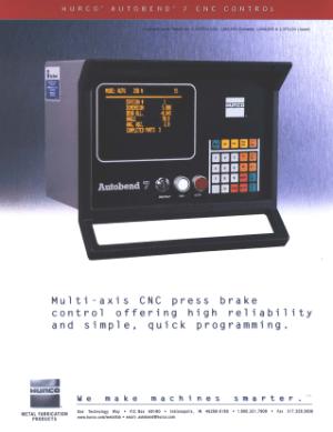 Hurco Autobend Manual
